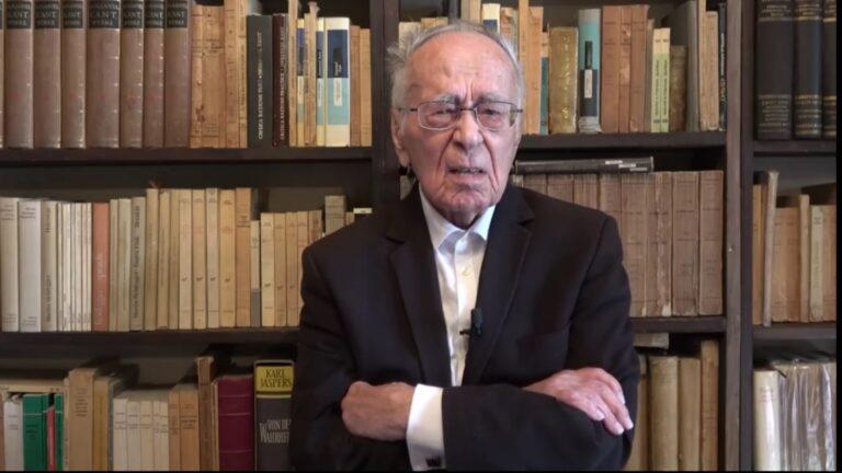 Mihai Șora e trist. Un partid istoric a mai murit azi