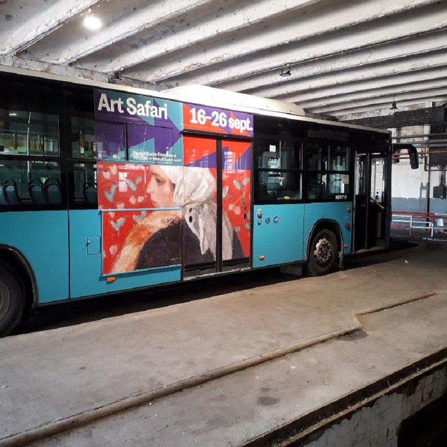 ArtSafari trimite autobuze în București