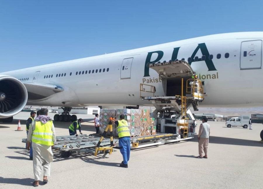 Un avion cu medicamente a ajuns pe aeroportul din Kabul