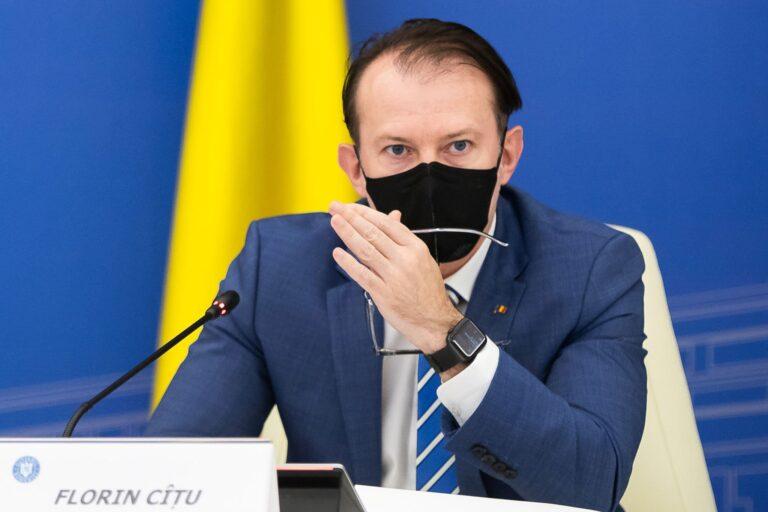 Cîțu: Nu îi roagă nimeni pe liderii USR PLUS să vină la guvernare
