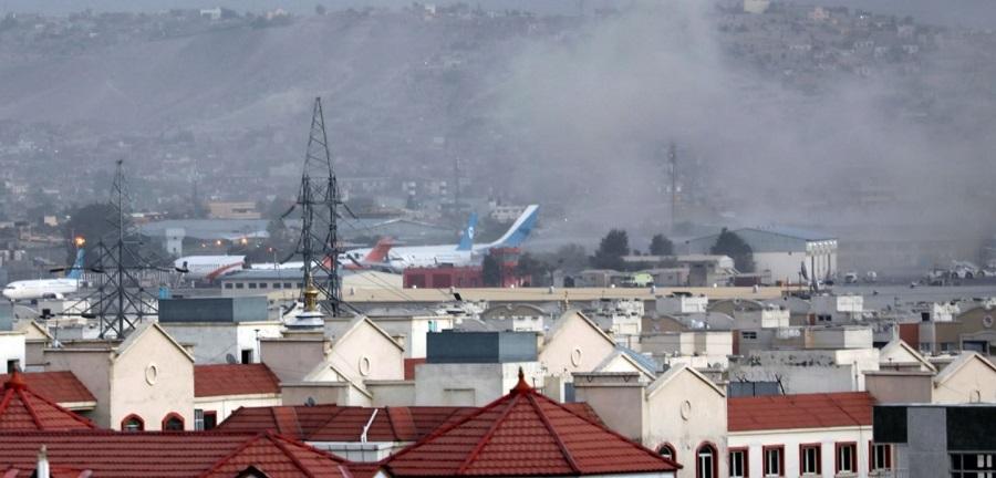Un atac terorist a avut loc joi lângă aeroportul din Kabul