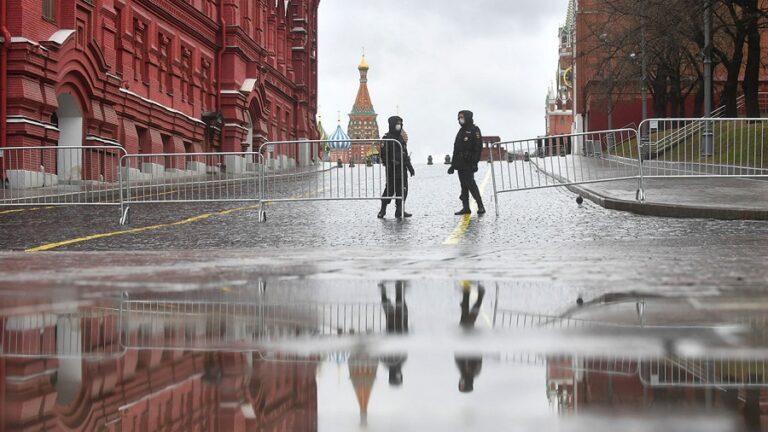 Moscova impune măsuri drastice din cauza numărului crescut de cazuri de infecție cu Covid-19