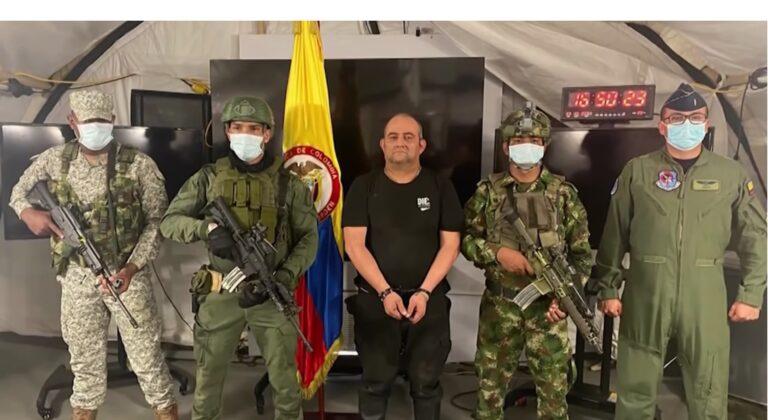VIDEO: Cel mai căutat traficant de droguri din Columbia, Otoniel, a fost capturat